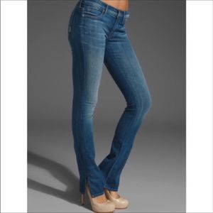 Mother The Slasher Ankle Straight Leg Jeans